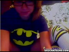 batman fan dildoing on webcam