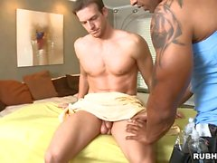 Pleasurable oral with homosexual couple