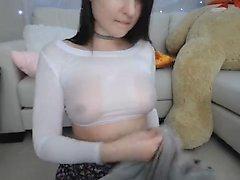 Große Brüste und einige böse Sex-Spielzeug in Aktion