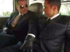 Raphael Alencar in a limo...
