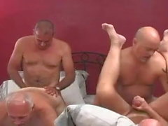 Ältere Männer Orgie