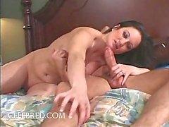 Stephanie Wylde Giant Tit MILF Swallows Ejaculate