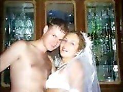 Echte bruiden op hun huwelijksreis !