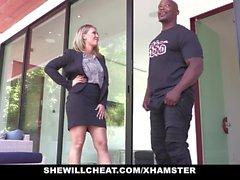 SHEWILLCHEAT - Geiles Immobilienmakler Fucks BBC