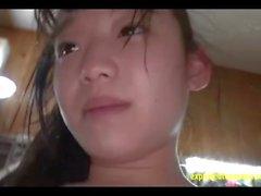 Baby Face Yuna Himekawa Gets Ambushed fodido realmente difícil dobro articulou