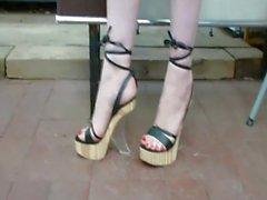 Sapatos de cunha - saf