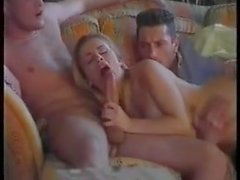 Steaming hot wife offered to friends, very nice scene