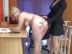 Blonde On Blonde Spanking ! ! !