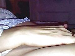 Vahva söpö sormitus orgasmi