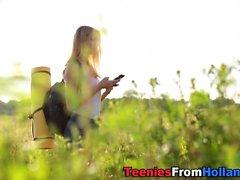 Retkeilyä hollantilaisella teini-ikäisellä