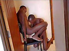 Black Boys Some Blowjob And Bareback Quickie