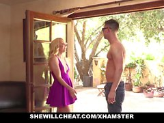 SheWillCheat-Aaliyah Love Fucks Young Guy While On Phone Wit
