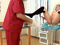 Schoolgirl Gets Her Pussy Examined By Doctor