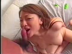 japonesa Reiko bj y HJ scaftered esperma