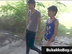 Asians Gay à porn video threesome