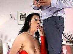 británico maduras anal creampie
