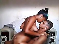 Африканского Подростки Домашний Sextape