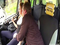 Seduced & fucked squirt in the cab