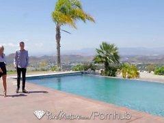PureMature Busty bienes raíces MILF Nina Elle folla potencial comprador