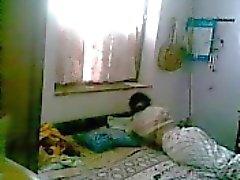 De Bangla desi femme de péter seul à la maison 54