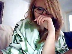 adolescente quentes com óculos