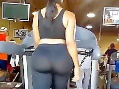 Big ass der auf Tretmühle