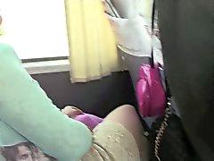 Transfer de autobús Videos Upskirt