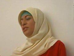 Arabiska muslimska HIJAB Turbanli Tjej 1 - NV