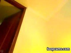 amatör roseangel6 9 blinkande bröst på live webbkamera