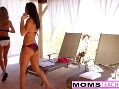Hot mamma Brandi Amore, figlia aidra fox & Fidanzato Cazzo