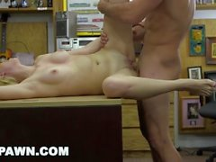 XXX PAWN - Stevie Sixx Sells Her BF's Bass Amp For Cash, And Her Ass, Too