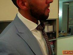 Kas gay anal seks ve cumshot