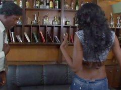 Hot & Sexy Black Beauty Big Boobs vs BBC - Friday Parody