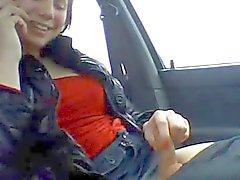 Travesti en voiture