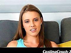 Casting Couch X - län tonåring glada över att prova