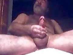 Old man and his jizz