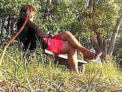 Ilta ja aurinkoisessa Eifelin