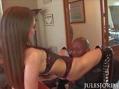 Jules Jordan - Ultimate Big Black Cock Orgy With Riley Reid And Friends