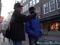 Olandese Hooker figa mangiato