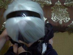 2B Nier Automata cosplay часть 1