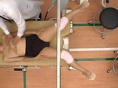 Enfermeira asiática japonesa de cabeludo Hardcore fuck