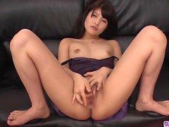 Naughty scener av smutsig porr med smal Saki Kobashi