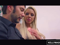 KELLY MADISON Bimbo MILF Nina Elle Seduces the Artist