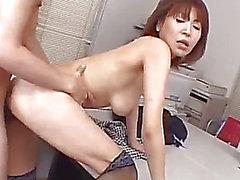 Nasty kontoret sexscener med juni Kusanagi