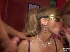 Cum in mouth & creampies - Natascha et Luna P2