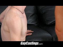 GayCastings jockstrap boy wants to get into porn