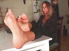 Hot Milfs seksikäs jalat