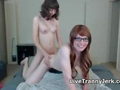 Sexy Teen Trannies Playing Again