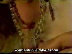 Anal retro británico con Louise Hodges