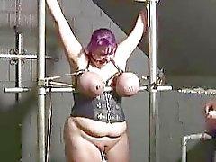 BBBW Kotirouva Ann rangaistava slut vankilassa